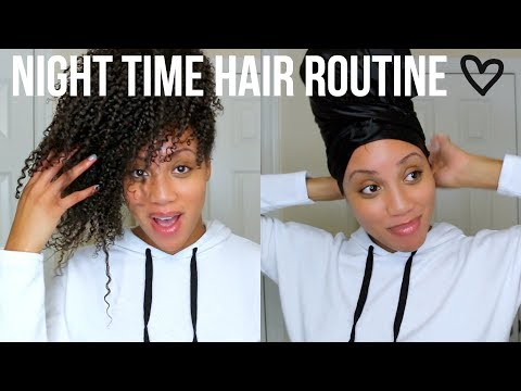 Nighttime Hair Routine 3 Ways + Options for SHORT HAIR