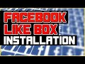 How To Install Facebook Box Plugin For Wordpress 2016