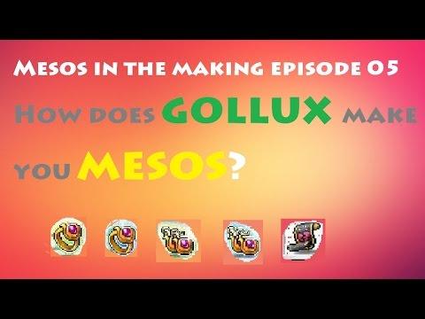 Maplestory - MITM Ep 05 : Profit From Gollux 1b/10 Days