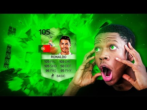 OMG NEW 105 RATED RONALDO PACK OPENING !!!