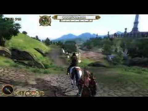 Oblivion Travel of horse(馬での旅)Part1-4