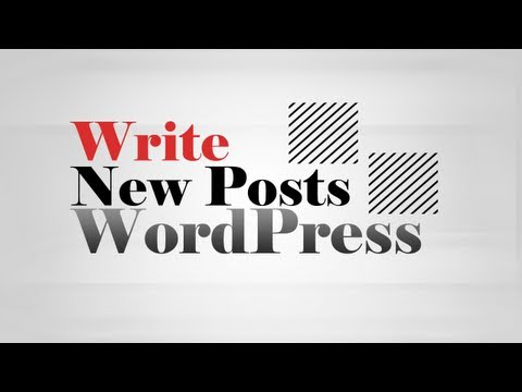 How to write new Post article in WordPress