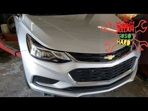 Chevy cruze and Malibu oil change
