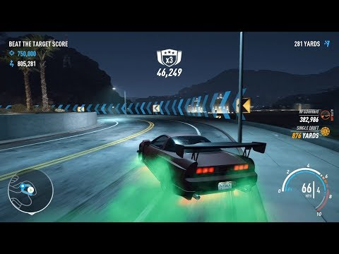 Need For Speed Payback - Defeating The Drift King Aki Kimura's 750,000 Score [Hard Difficulty]