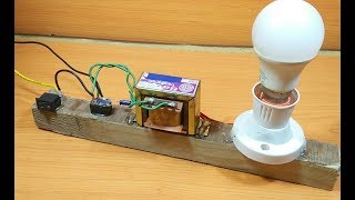 How to Make a simple 12v to 220v inverter(dc to ac) at home easily without any ic/transistor
