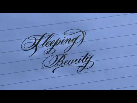 Super satisfying Calligraphy l modern script copperplate Calligraphy