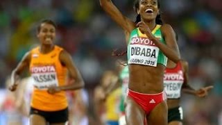 Genzebe Dibaba Wins The Women