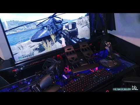 Sim Setup, Throttle, Pedals & T16000m Arma3/Elite Dangerous