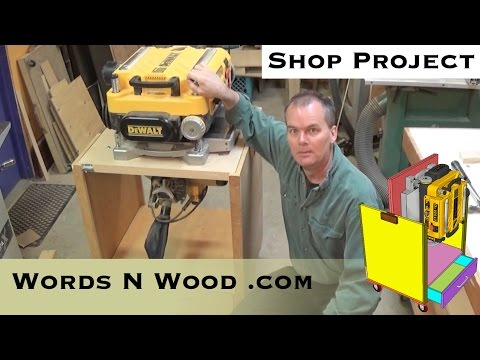 About My Fliptop Planer Stand (WnW #15)
