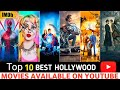 Top 10: Best Hollywood Movies On Youtube in Hindi| Best Magical Movies
