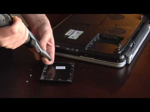 Laptop Hard Drives : How to Replace a Laptop Hard Drive