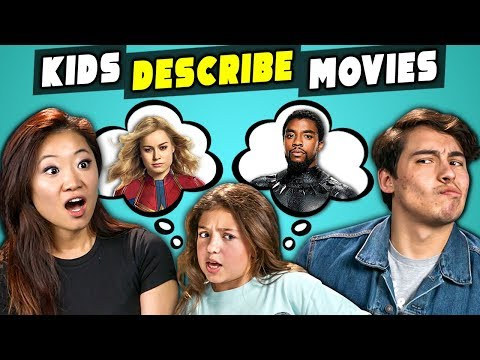 Xxx Mp4 Can Marvel Fans Guess Marvel Movies Described By Kids React 3gp Sex