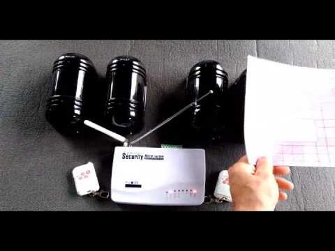 Wireless Infrared Perimeter ALARM SYSTEM