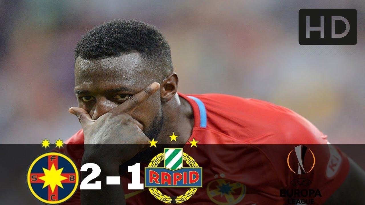 Steaua 2-1 Rapid Viena ~ Rezumat Complet HD ~ 30.08.2018 Europa League