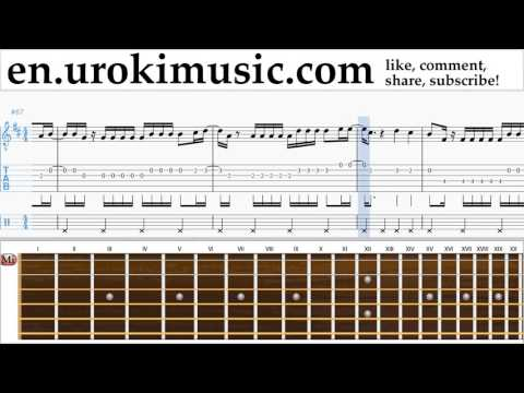 Guitar lessons Luis Fonsi ft. Daddy Yankee - Despacito Sheet Music Tutorial Part#2 um-i352