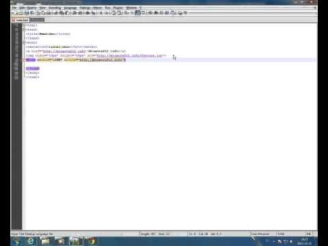 HTML Svenska #3 - Link Button