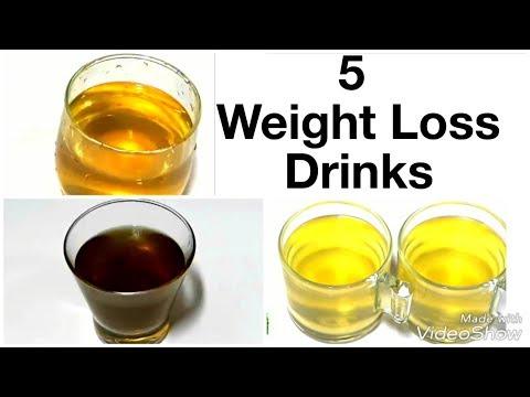 5 ऐसी ड्रिंक जो तेजी से वजन घटाएं / loose 10 kg in 2 months / belly fat cutter drinks.