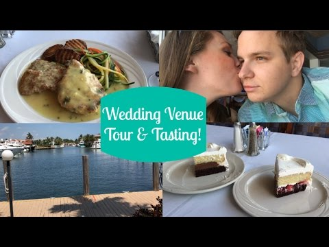 Our Wedding Venue Tour and Food Tasting!