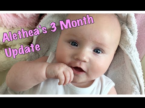 ALETHEA'S 3 MONTH BABY UPDATE | My Fashion Cupboard Baby (Girl)