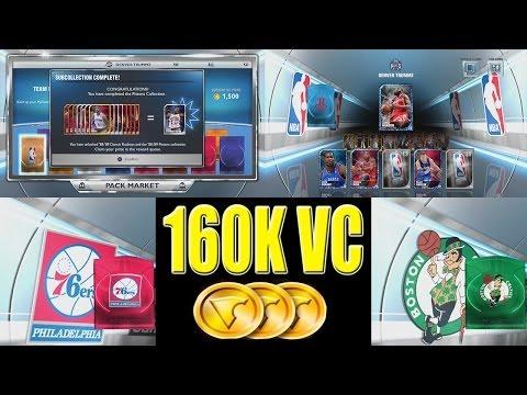 NBA 2K14 My Team Next Gen, 160K VC Pack opening, Getting a Sapphire player