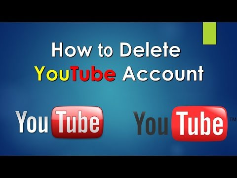 How to: delete youtube channel | process of deleting YouTube channel