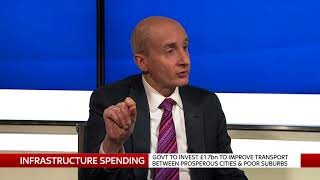 Lord Adonis on infrastructure in the Budget.