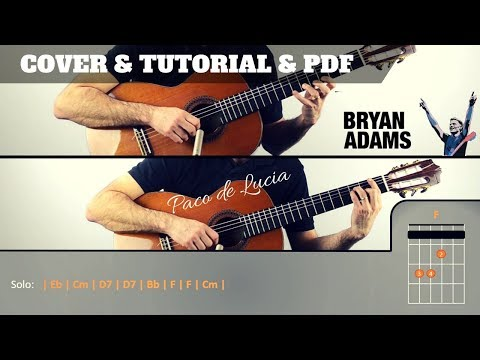 HAVE YOU EVER LOVED A WOMAN | Bryan Adams | PDF GRATIS + TUTORIAL + COVER |