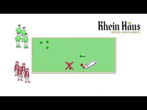 Rhein Haus Indoor Bocce Ball Tutorial
