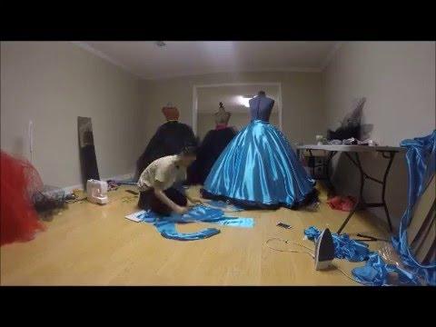 Making of PPG dresses pt.2