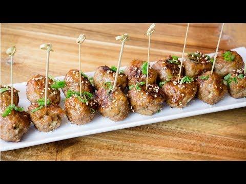 Lemongrass Meatballs - Pork Lemongrass Recipe