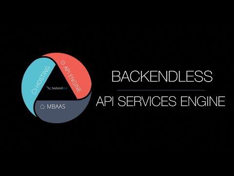 Backendless API Services Engine