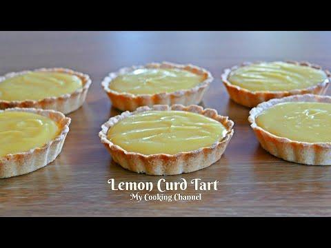 How to make lemon curd tart recipe | lemon curd recipe