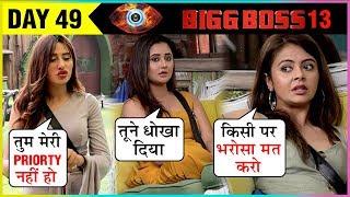 Rashami Devoleena ARGUE Over Nominations, Mahira Gets ANGRY With Paras   Bigg Boss 13 Episode Update
