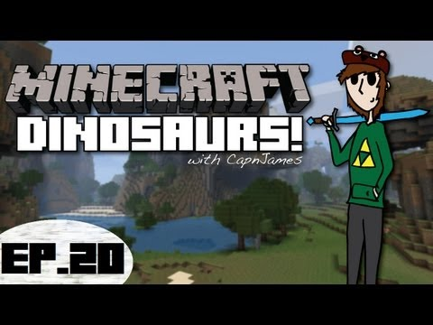 Minecraft Dinosaurs - Fossils and Archeology Mod - Episode 20