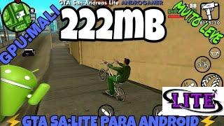GTA SA LITE V9 200MB    GTA SA LITE ANDROGAMER