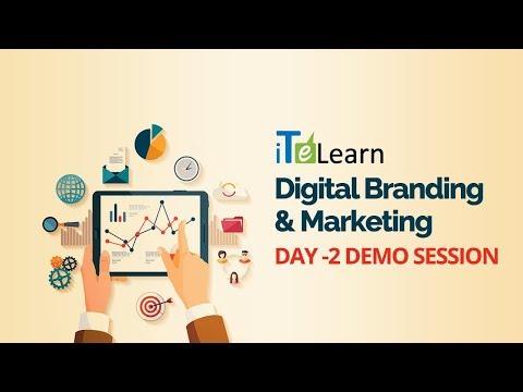 Digital Branding & Marketing Day - 02 Demo Session - iTeLearn