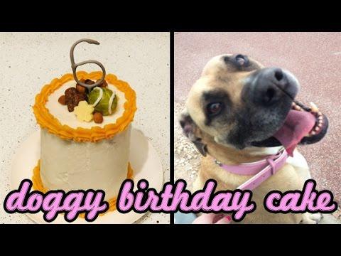 No Bake Doggy Birthday Cake Recipe | CupcakeGirl