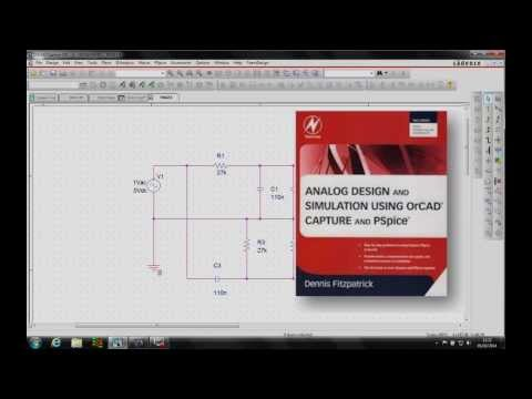 OrCAD PSpice Simple Circuit Page 74 Video 4 of 6