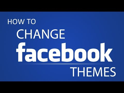 How To Change Facebook Theme with google chrome 2014?