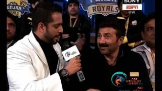 Sunny Deol at Pro Wrestling League Season 2 3rd Jan 2017 | NCR Punjab Royals Vs Jaipur Ninjas