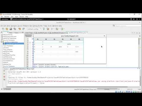 Read csv, run in background thread and update JavaFX TableView dynamically