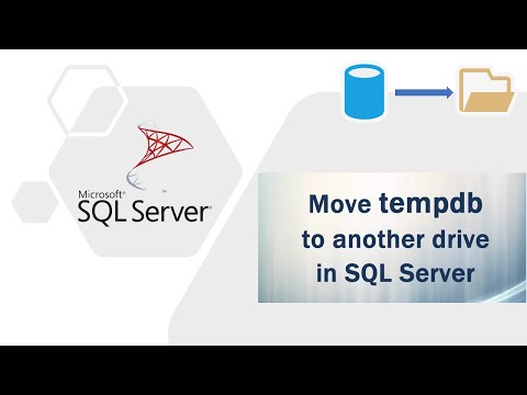 Move tempdb to another drive in SQL Server