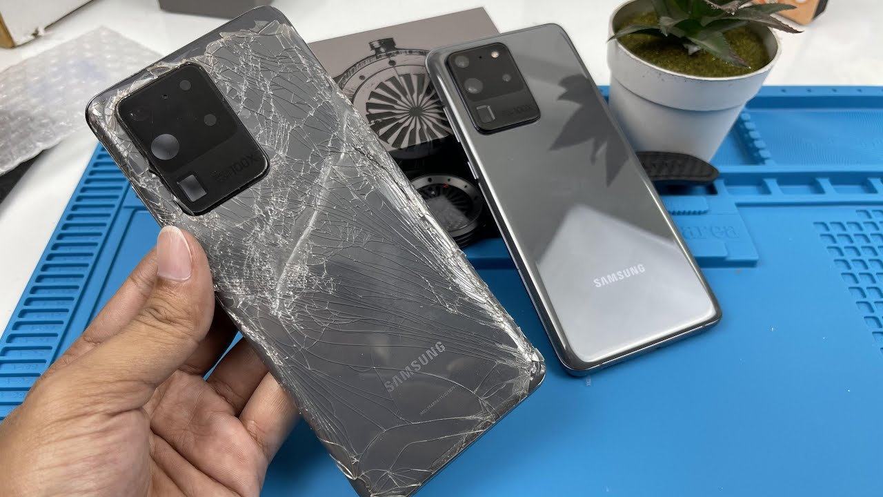 SAMSUNG Galaxy S20 Ultra Restoration ASMR Repair...