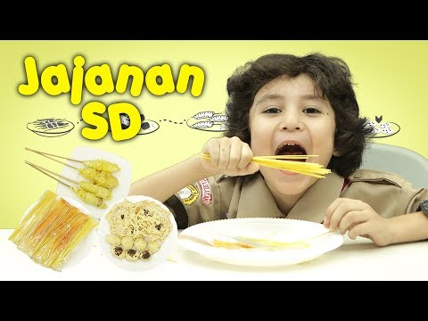 KATA BOCAH tentang Jajanan SD (Kue Cubit, Telur Gulung, Mie Lidi) | #31