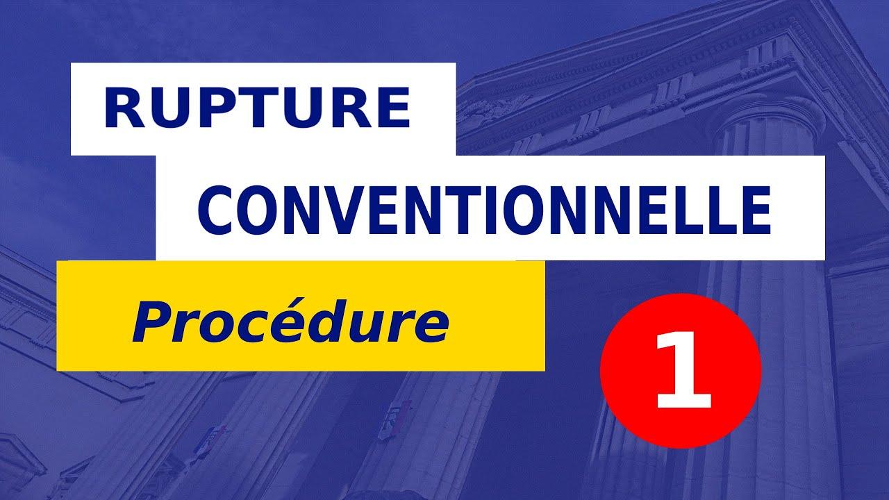 RUPTURE CONVENTIONNELLE EN 8 ÉTAPES __ #9