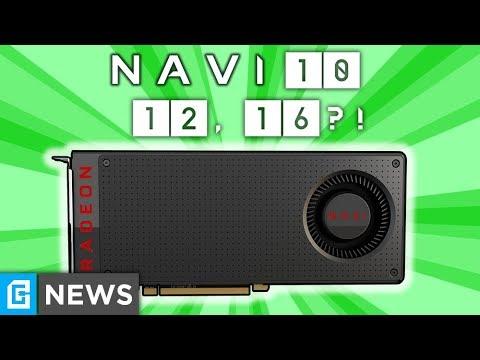 AMD Navi 9, 10, 12 & 16, GTX 1660Ti Gaming Benchmark & Release!
