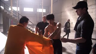Philip Ng channels Bruce Lee in WWE Studios