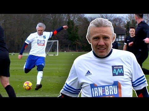 JIMMY BULLARD & PAUL MERSON play in a Sunday League match against Football Daily! | Soccer AM v FDFC