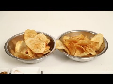 How to Make Potato Chips With a Deep Fryer : Pasta Dishes & More