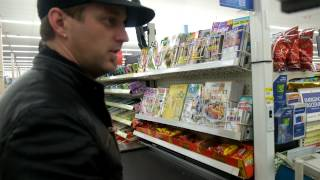 Thompson Square Buy Just Feels Good at Walmart on Street Day